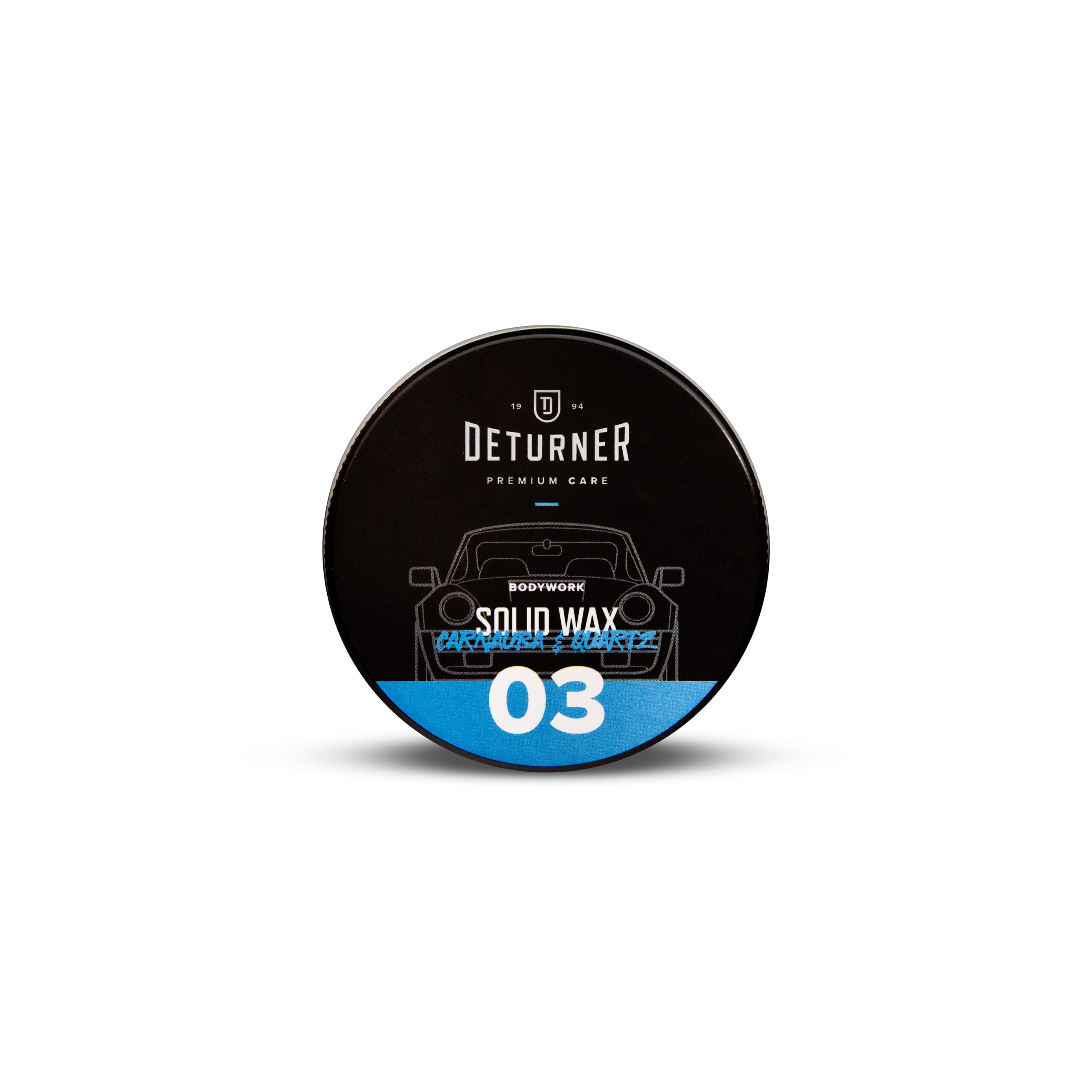 Deturner Solid wax carnauba & quartz 50gr 1