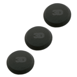 3D Black foam applicator 3pc