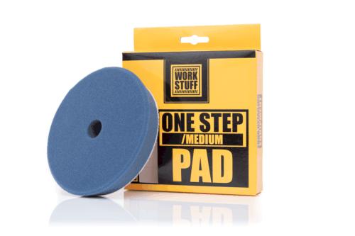 Work stuff one step/medium pad 140mm 1